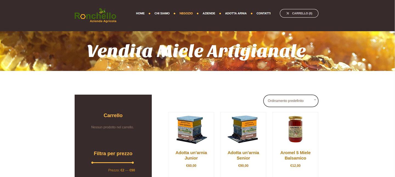 miele ronchello vendita miele artigianale