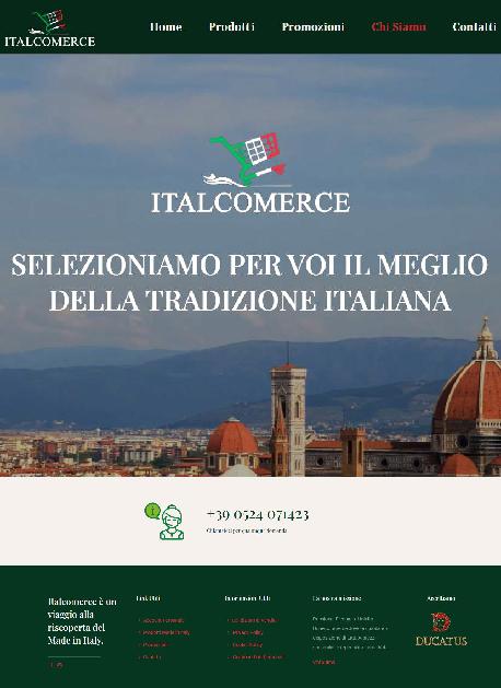 italcomerce cliente digital compass web agency